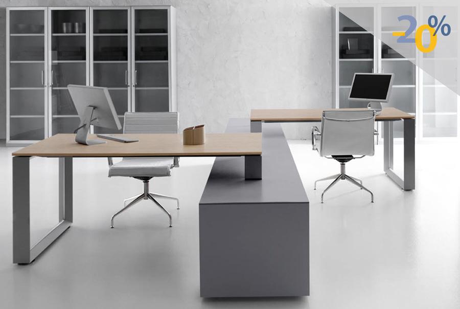 Escritorios modernos para oficina venta de escritorios en for Diseno de muebles de oficina modernos