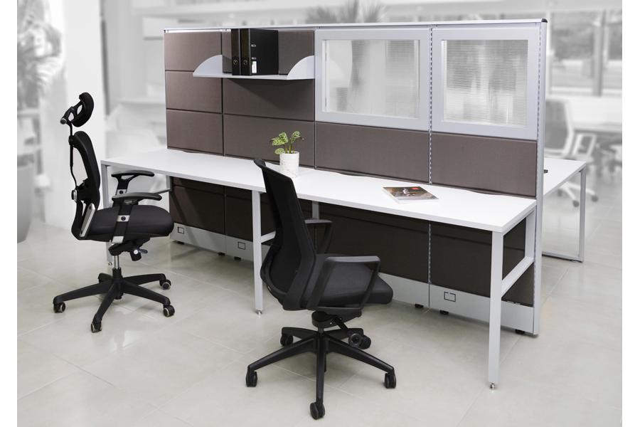 Modulares mamparas 2 in 2u2 muebles para oficina en m xico for Muebles de oficina ahora 12