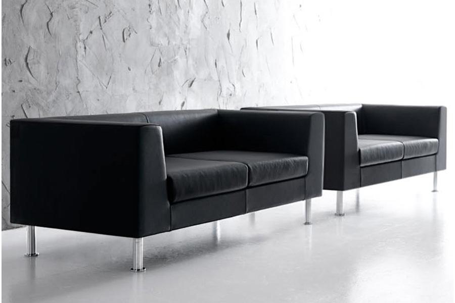 Bancas para zonas de espera sillones para oficina for Sillones para oficina