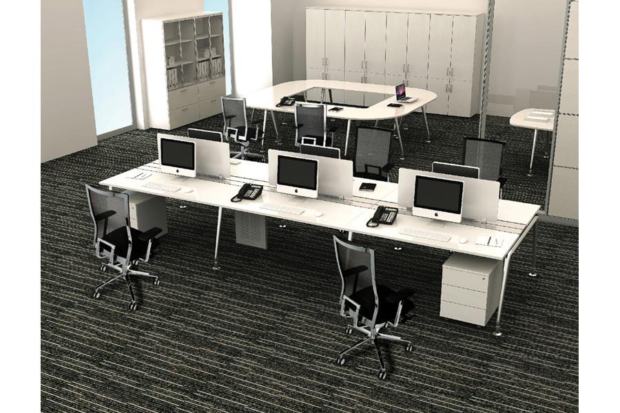 Escritorios modulares escritorios para oficina en for Muebles de oficina concepto