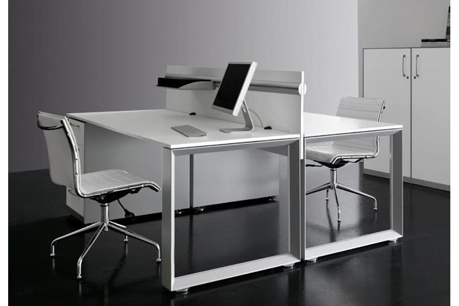 Escritorio modular agile 2 usuarios for Muebles de oficina concepto